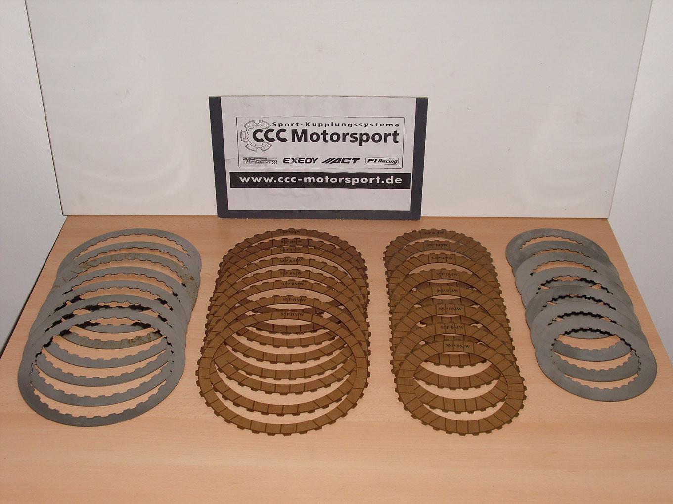 NRC clutch kit discs reinforced DSG VW Passat B8/3G 2 0TSI 900NM Upgrade  DQ500